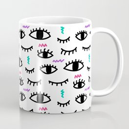 Abstract Eyes Coffee Mug