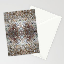 Nacrous Modern Pattern Stationery Cards