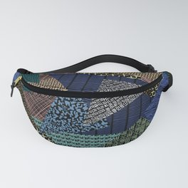 Pantern Mania Collage Fanny Pack