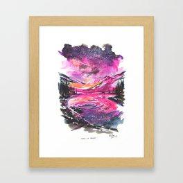 Make Or Break Framed Art Print