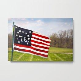 Bennington Flag Metal Print