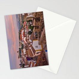 Obidos, dusk Stationery Cards