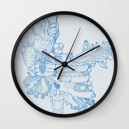 Narrowboating Wall Clock
