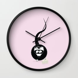 Stealin' some cheese Wall Clock
