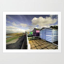 Ho! Huts!  Art Print