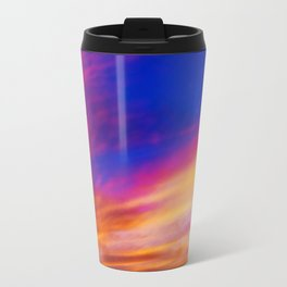 rainbow clouds Travel Mug