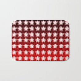 You're a Star! Red and Black! Bath Mat