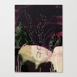 Midsummer night Canvas Print