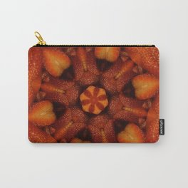 Hearts (from red strawberries) Carry-All Pouch