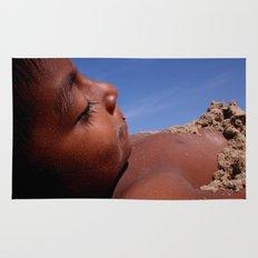 Wittos (Blue) Little Indian Sand Boy  Rug