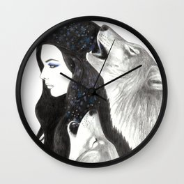 Winter Song Wall Clock