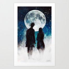 Show Me The Stars Art Print
