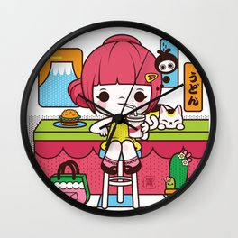 Fuji Girl Wall Clock