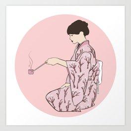 Tea Ceremony Art Print