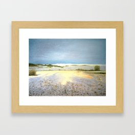 STILLNESS Framed Art Print