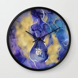 Storm Inside Wall Clock