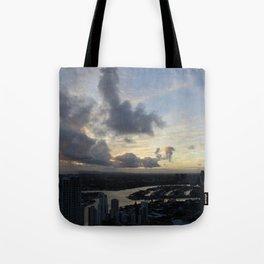 Golden sunsets Tote Bag