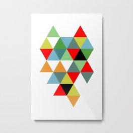 Abstract #593 Metal Print
