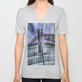 Come on You Spurs Wembley Stadium Unisex V-Neck