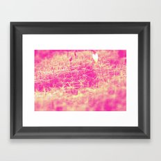 PurpleGreen Framed Art Print