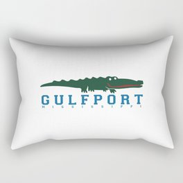 Gulfport Mississippi. Rectangular Pillow