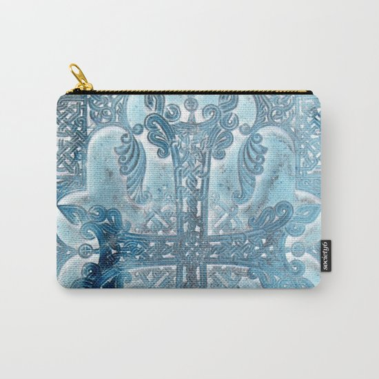Celtic Blue - JUSTART © Carry-All Pouch