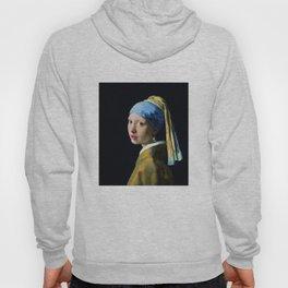 Jan Vermeer Girl With A Pearl Earring Baroque Art Hoody