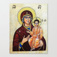 Mary, Mother of Jesus Canvas Print