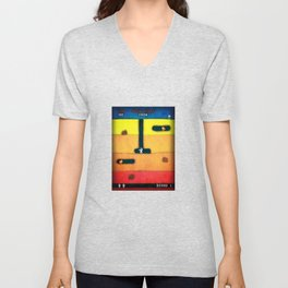 Dig Dug Unicorn Unisex V-Neck