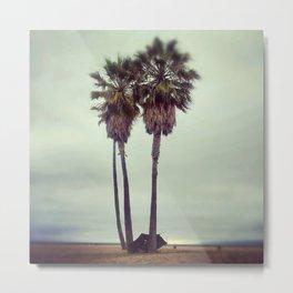 June Gloom on Venice Beach Metal Print