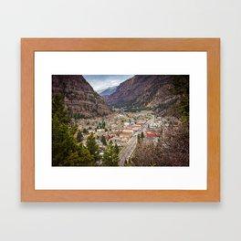 Ouray Colorado Framed Art Print