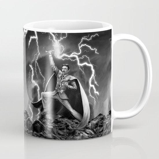 Tesla: God of Thunder Coffee Mug
