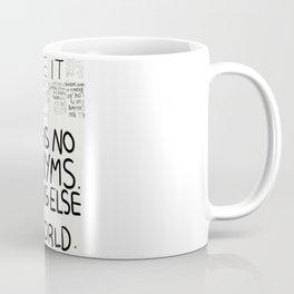 love has no synonyms Coffee Mug