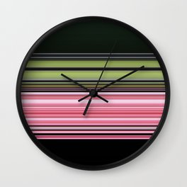 Strawberry lime licorice all sorts Wall Clock