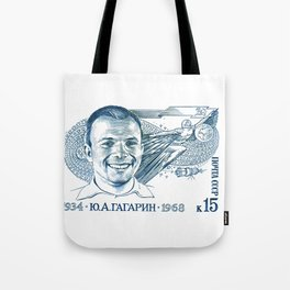 GAGARIN SPACE ODYSSEY Tote Bag