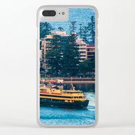 Manly Wharf, North Harbour, Sydney Clear iPhone Case