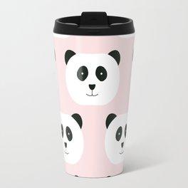 Panda Love -Pink Travel Mug