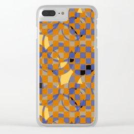 Pattern A Clear iPhone Case