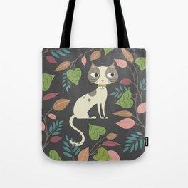 Nocturnal Cat Tote Bag
