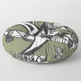 anxiety Floor Pillow