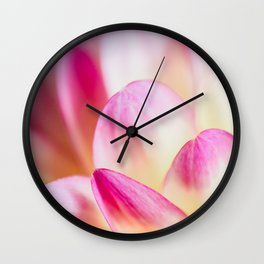 Dahlia in Pink Wall Clock
