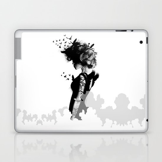 LADY BIRD Laptop & iPad Skin
