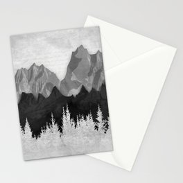 Layered Landscapes Stationery Cards