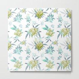 Blue Oleander  Metal Print