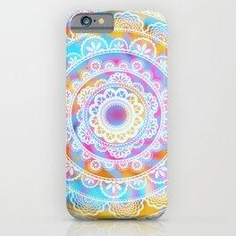 Traditional Indian Mandala / Colorful Hippie Spiritual Meditation iPhone Case