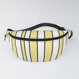 Strips 4-line,band,striped,zebra,tira,linea,rayas,rasguno,rayado. Fanny Pack