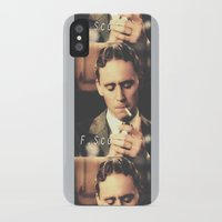 fitzgerald iPhone & iPod Cases featuring F. Scott Fitzgerald by Earl of Grey