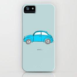 Azul. iPhone Case