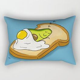 Avocado Dreams Rectangular Pillow