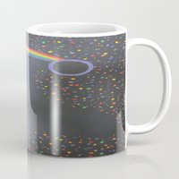 prism Mugs featuring Prism by kaylinicole